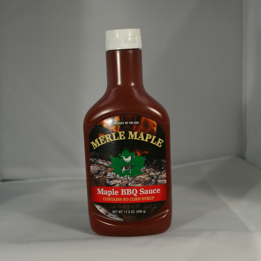 Maple BBQ Sauce in Squeeze Bottle